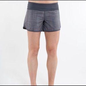 Lululemon 'Run speed' shorts